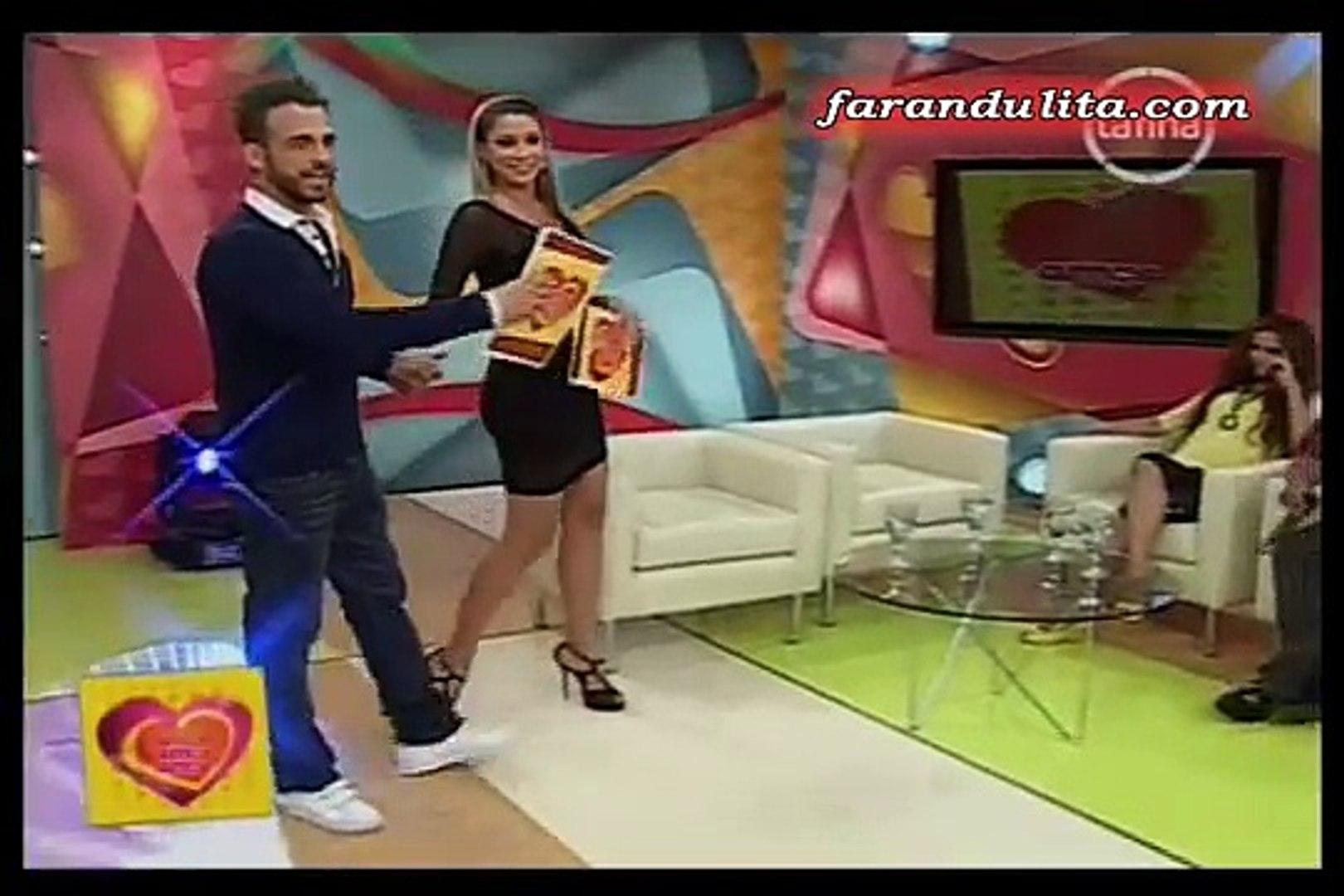 Amor Amor Amor 12-01-2012 Bronca entre Lucia de la Cruz y Luis Caycho