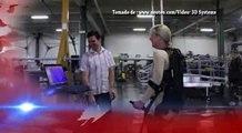 Exoesqueleto para parapléjicos fabricado con impresoras 3D @elgolfoveracruz #CienciaTecnología