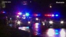 18-year-old shot by police after Ferguson protests erupt in gunfire