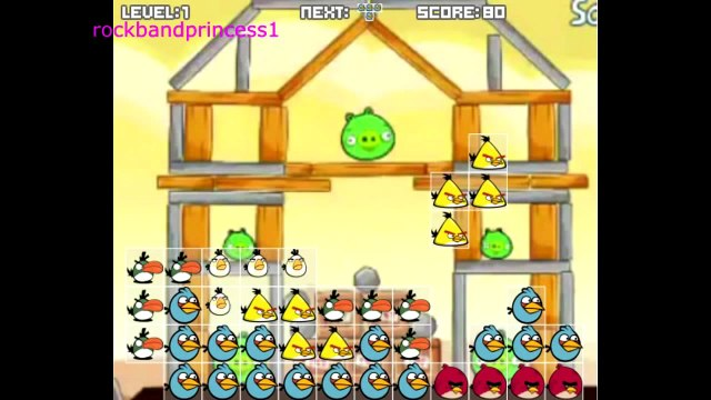 Angry Birds Cartoon Game Angry Birds Free Online Games To Play   Angry Birds Tetris Game