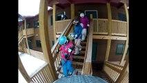 Lutsen Ski Resort - Timelapse and Snowboarding - GoPro Hero2