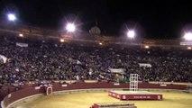 Salto de Nicolas Vergonzeannea al toro Raton en Castellon. Magdalena 2012