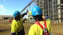 Calédonie: l'usine de nickel du nord