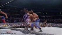 Chris Benoit & Kurt Angle vs. Edge & Rey Mysterio Highlights - HD No Mercy 2002