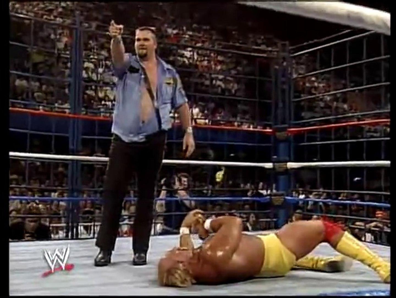 Hulk Hogan vs The Big Boss Man (Cage Match, SNME 05 27 89)