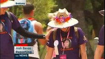 2013 Brisbane Weekend to End Women's Cancers -- ABC NEWS