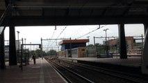Vertrek NMBS Traxx 2844 +ICRm 16466 te Rotterdam CS