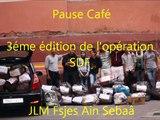 Pause café: 3éme édition de l'operation SDF (JLM Fsjes ain sebaa)