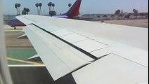 Delta 767-300 take off San Diego Airport (Lindberg Field)