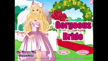Barbie Games Barbie Gorgeous Bride Dress Up Game   Barbie Wedding Dressup and Makeover Games