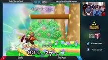 BLUE FISH WF: Lucky (Fox) vs CTRL | The Moon (Marth)