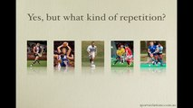 Skill Development through Repetition - but what kind of repetition?