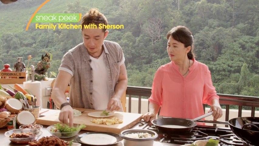 Sneak Peek   Family Kitchen with Sherson   Asian Food Channel