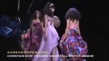 Christian Dior Fall Winter 2008 09 Fashion Show Karen Kooper