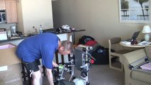 Flat Top Paramotor Unboxing And Assembly!! Powered Paragliding Tandem Capable Backpack Aircraft!!