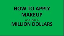 How to Apply Makeup like a Professional, Makeup tips.