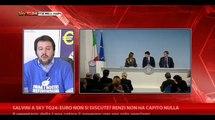L'Euro non si discute? Renzi non ha capito nulla
