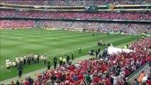 Celtic v Liverpool - You'll never walk alone in Dublin,Ireland