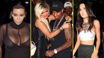Kylie Jenner Birthday Bash   Kim Kardashian, Kendall Jenner, Tyga