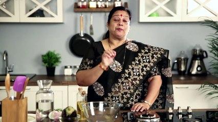 Vangyache Bharit / Baingan Bharta - Recipe by Archana - Vegetarian Smoked Eggplant in Marathi
