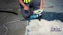 Holer Dust Shroud & Edge Grinding