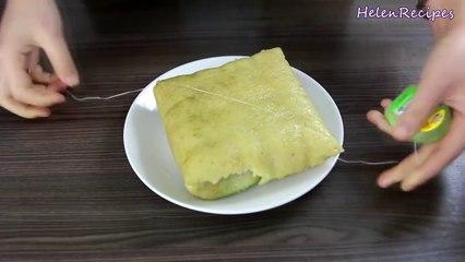 Bánh Chưng - Vietnamese Square Sticky Rice Cake