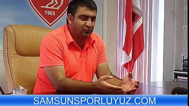 ÜMİT ÖZAT BASIN TOPLANTISI -11082015-SAMSUNSPORLUYUZ COM