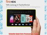 Fire HD 6 152 cm (6 Zoll) HD-Display WLAN 16 GB  (Limone) - mit Spezialangeboten