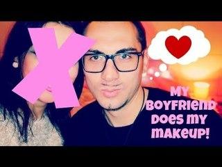 My BOYFRIEND does my makeup!!!