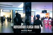 Roverman Productions Flash Mob Accra Mall