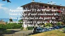 Appartement T2 160 000 euros agence immobilière evian DE CORDIER immobilier evian