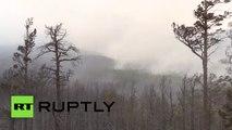 Russie : des touristes sont évacués à cause d'incendies dévastateurs près du lac Baïkal