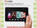 Fire HD 6 152 cm (6 Zoll) HD-Display WLAN 8 GB  (Schwarz) - mit Spezialangeboten