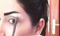 مكياج لتكبير العيون الصغيرة   Arabic makeup, how to make your eyes look bigger