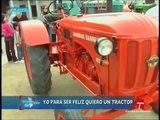 Tractores antiguos en Tembleque. Reportaje en directo de RTVCM