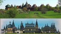2/7 Tourisme en Russie Visiter Moscou Le Palais de bois --Tourism in Russia Visit Moscow The Kolomenskoye Wooden Palace -- Tourismus in Russland Besuchen sie Moskau Die Kolomenskoje Holz Palace -- Turismo en Rusia Visitar Moscú El palacio de madera