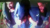 Rafa e Lucas na  FireWhip montanha-russa Beto Carreiro ...