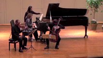 Weiss-Kaplan-Newman Trio Plays Brahms Piano Trio in B Major, Op.8, 1st mov.