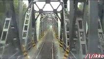 Linea Piacenza - Milano 1° Tratto Treno Prove Archimede (dalla cabina)