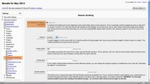 Moodle 2 Administration Server settings