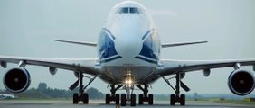 Boeing 747 Air Bridge Cargo w Katowice Airport