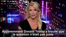 La journaliste de Fox News Megyn Kelly répond à Donald Trump après ses commentaires sexistes