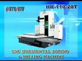 Taiwan FORTWORTH,CNC boring,horizontal boring mill,boring machine.machine tools,machining center.