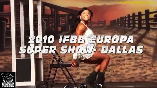 Myriam Capes Top Rated Fitness Routine at the 2010 IFBB Europa Super Show Pro Fitness Competition!