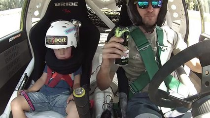 Dad Takes His Son On The Race Track For The First Time. His Reactions Are Priceless!