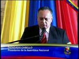 Discurso de Diosdado Cabello ante el féretro de Hugo Chávez en la Academia Militar