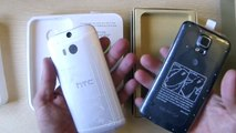 Parcels Aliexpress.HTC One M8 & Galaxy S5 .Unboxing
