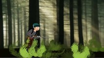 hunters in the jungle animation short clip