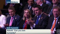 You'll never guess what Tony Abbott said next at the G20... priceless!
