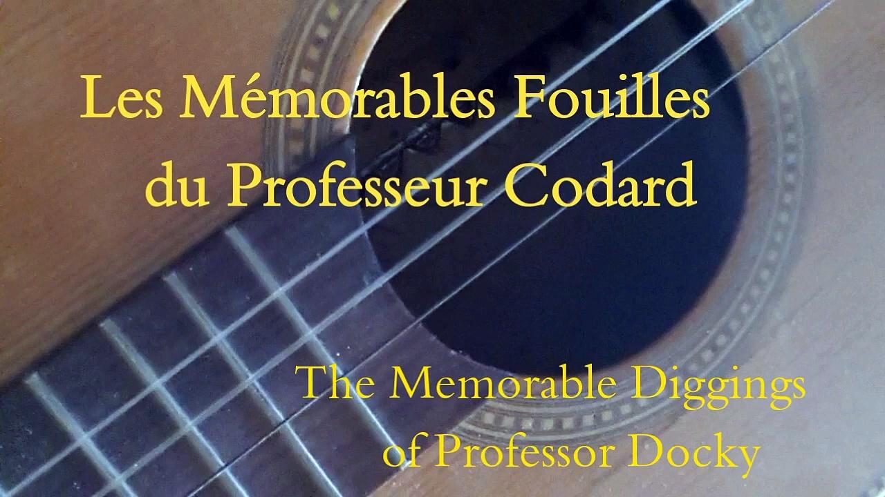 La Guitare à 2 Cordes – The 2 Strings Guitar